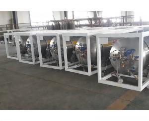 liquid oxygen nitrogen argon cryogenic cylinder bottle dewar