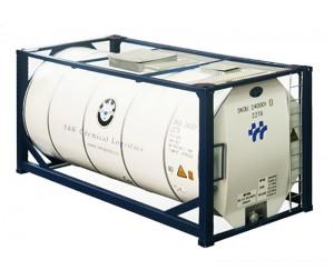 Liquid CO2 Argon Nitrogen Oxygen N2O ISO Tank