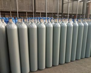 Seamless Steel Carbon Monoxide Gas Cylinder CO Gas