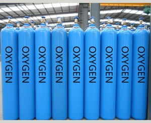 Industrial Oxygen Gas
