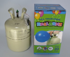 Factory Supply 13.4L Disposable Helium Tank