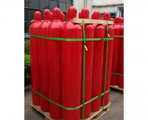 Low Price 40L 150bar Methane Cylinders With 99.999% Purity CH4 Gas