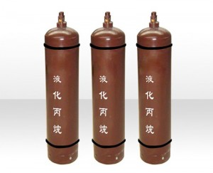 Industrial Grade Cylinders 98.5% 99.95% Gas Propane